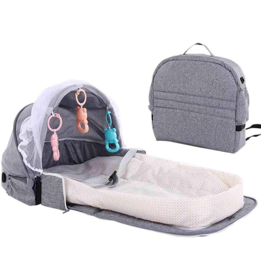 Portable Baby Infant Mosquito Nets Tent Mattress Bed Cover Travel Foldable Crib
