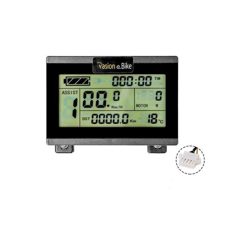 24v/36v/48v Electric Bike Display For Kt Controller