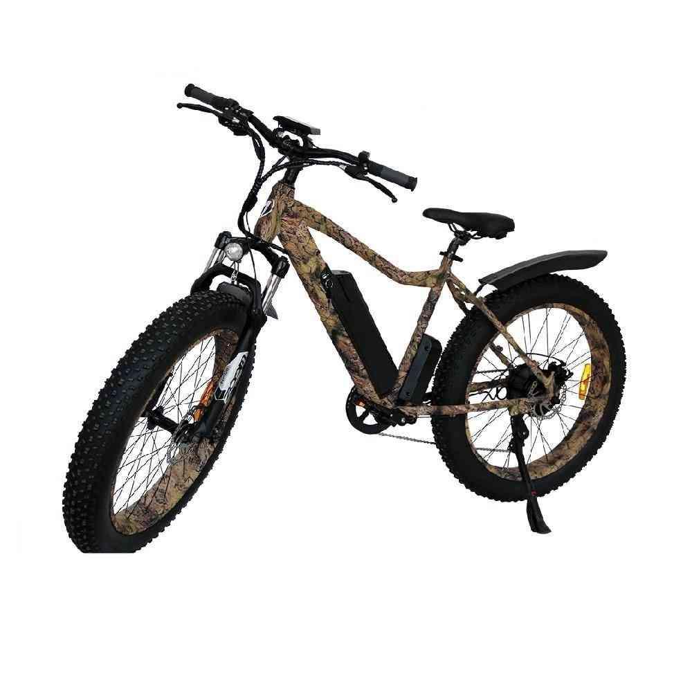 Fat Tire Electric Mountain Bicycle -beach Bike Cruiser Booster
