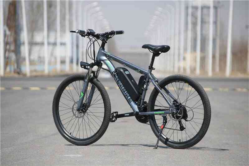 Electric Mountain Bike, Lithium Battery E-bike 26-27 Inch Speed Electric Bicycle