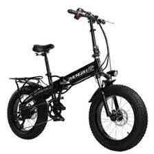 Electric Fat Bike, Motor 20 Inch 4.0 Tire- 15.6a Lithium Battery Folding E-bike