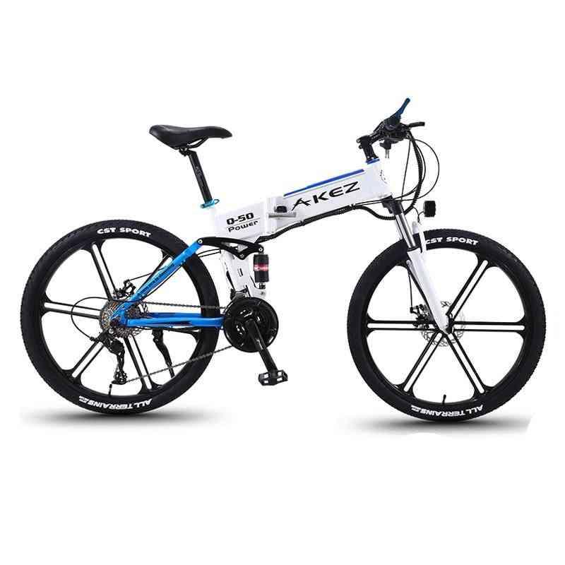 Aluminum Alloy  Folding Electric Bicycle-3 Mode