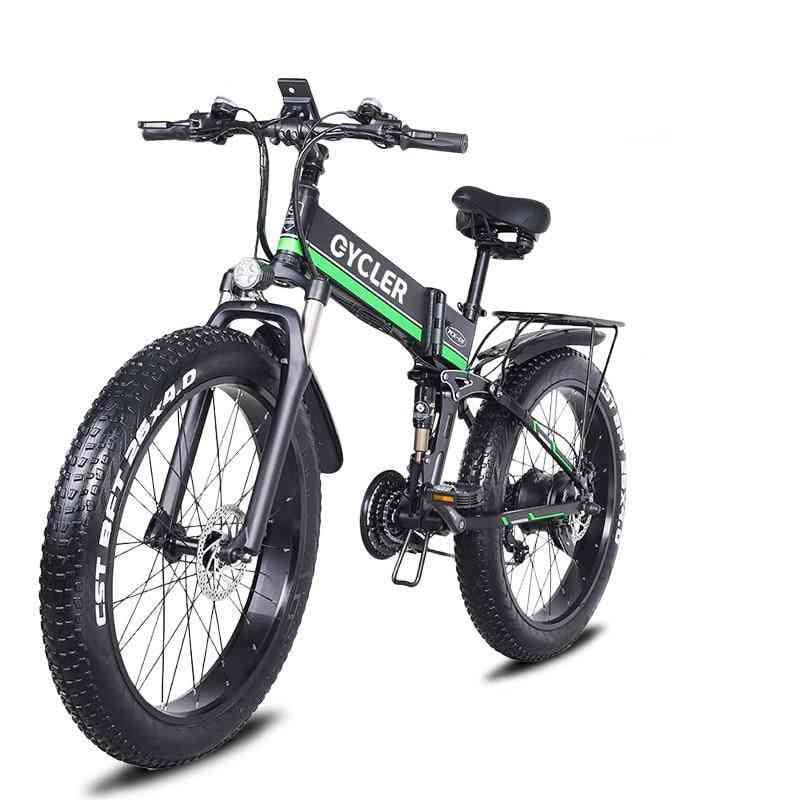 1000w, 12.8ah, 40km/h Electric Bicycle
