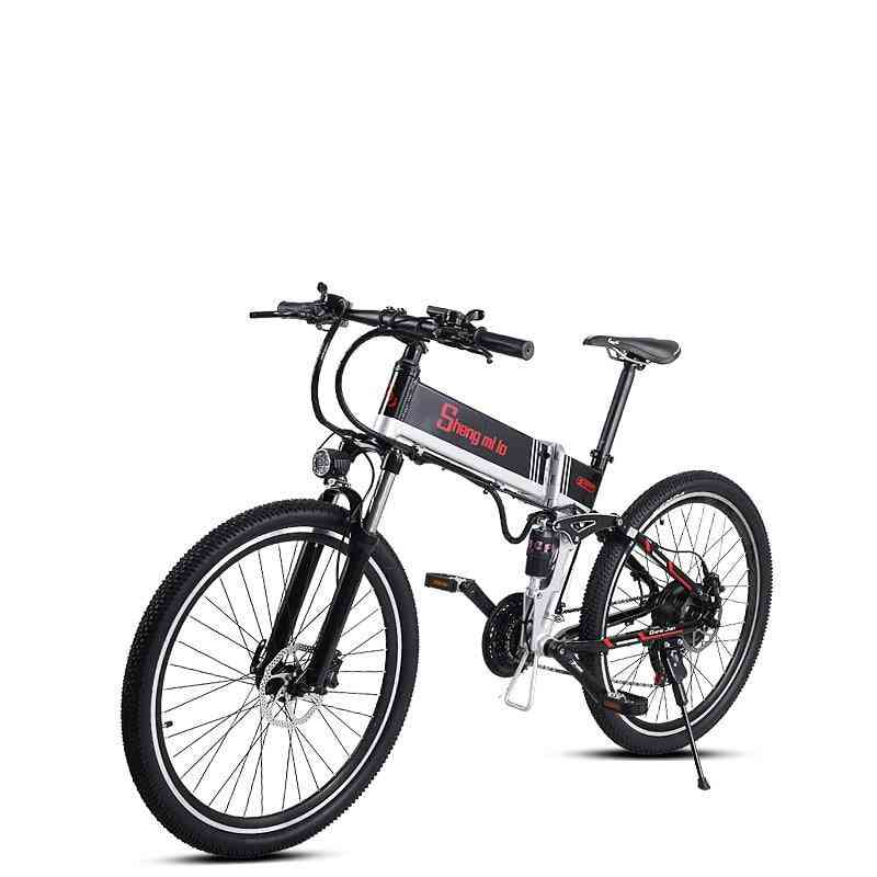 10ah 48v 350w Built-in Lithium Battery Electric Bicycle