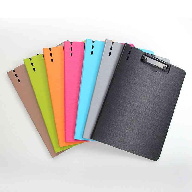 File Folder Board Pp Thick Writing Pad Waterproof