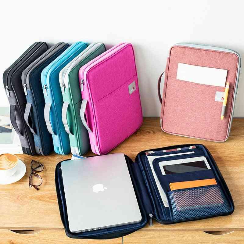 Document Organizer Folder Multifunction Business Case Office Filing Briefcase Storage Stationery