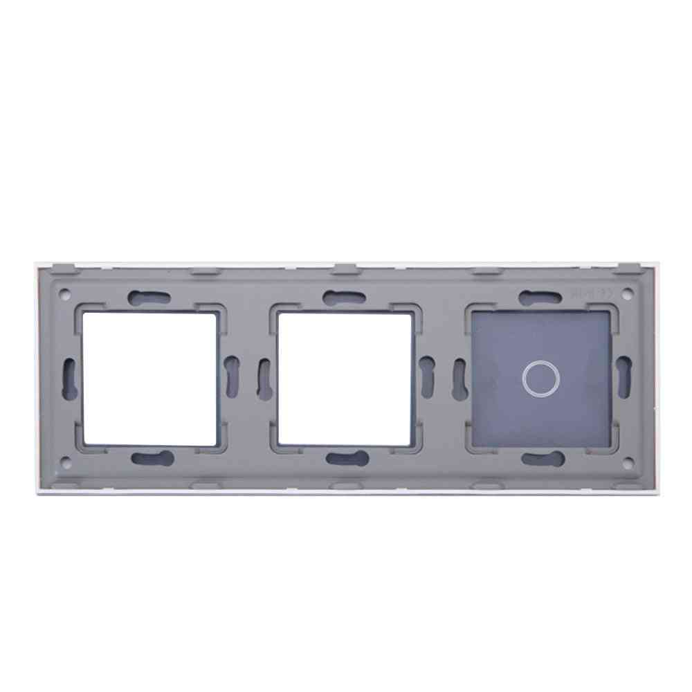 Switch  Panel And Socket Glass Frame