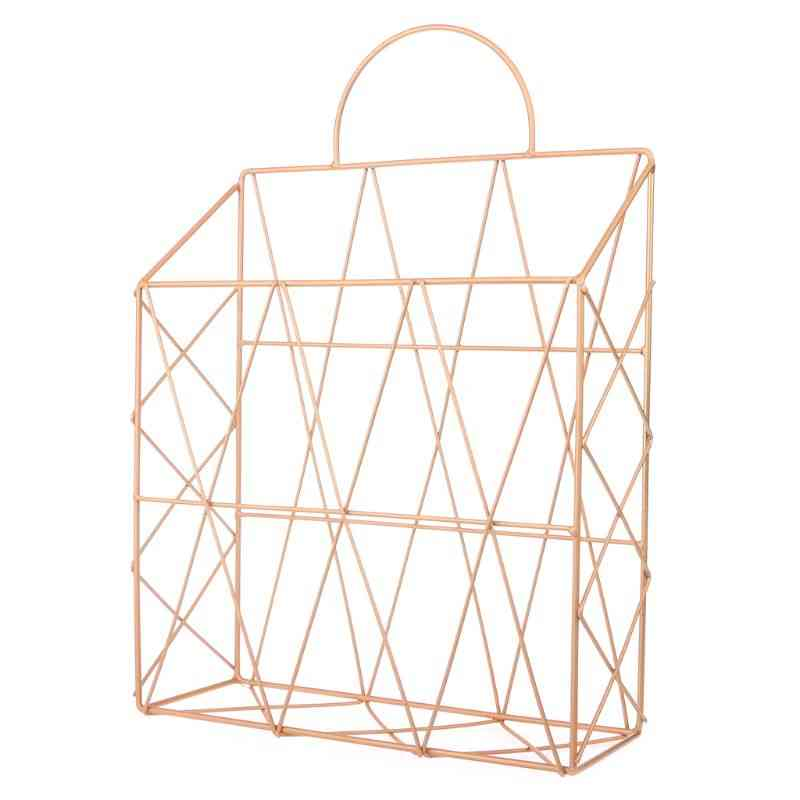 Nordic Style Hanging Storage Rack For Home Office