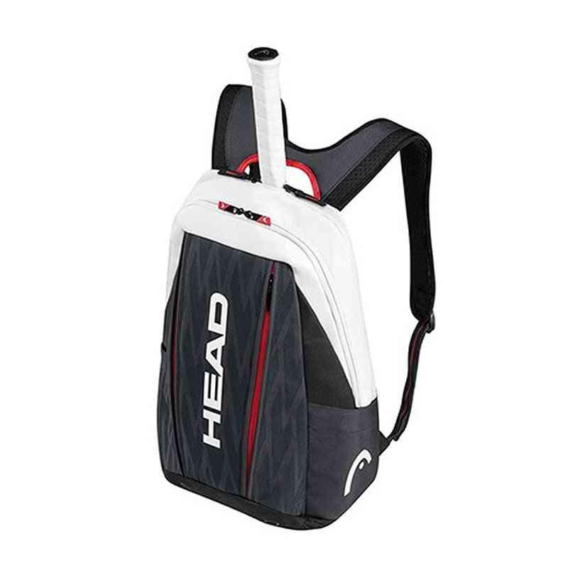 Original Head Racket Squash Badminton Shuttlecock Bag, Tennis Backpack
