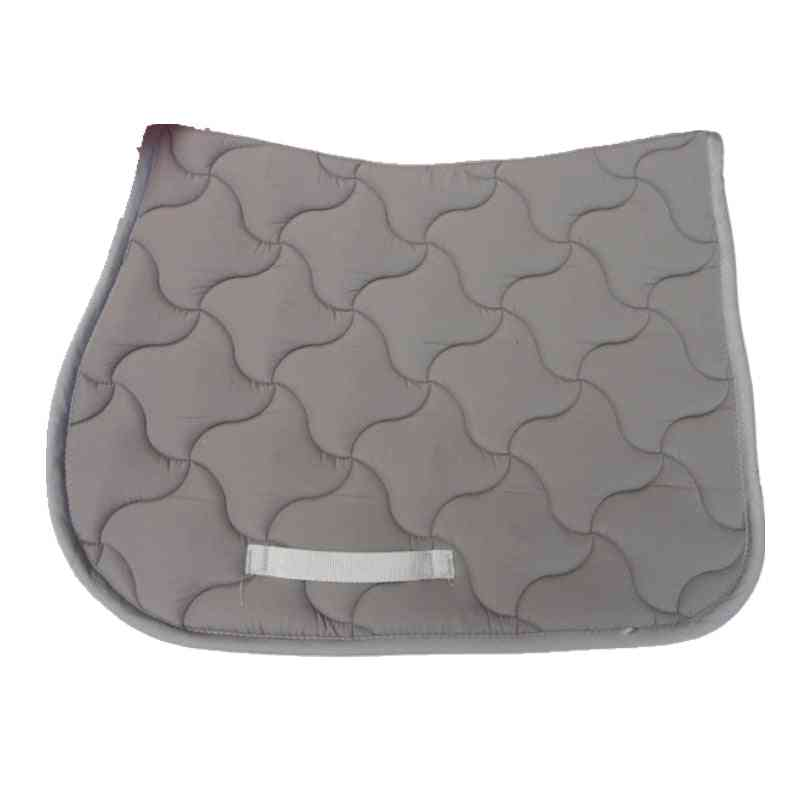 Horse Jumping Saddle Pads, Shock Absorption Quilted Cotton Cushion