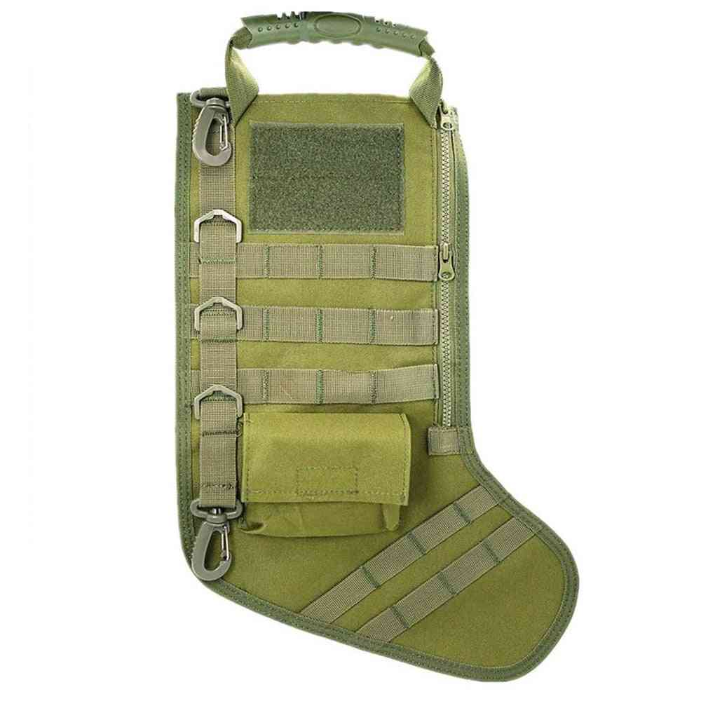 Waterproof Nylon And Wearable Tactical Stocking Bag