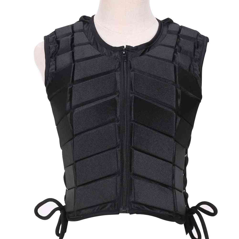 Outdoor Eva Padded Vest, Eventer Damping Safety Horse Riding Armor Equestrian Accessory
