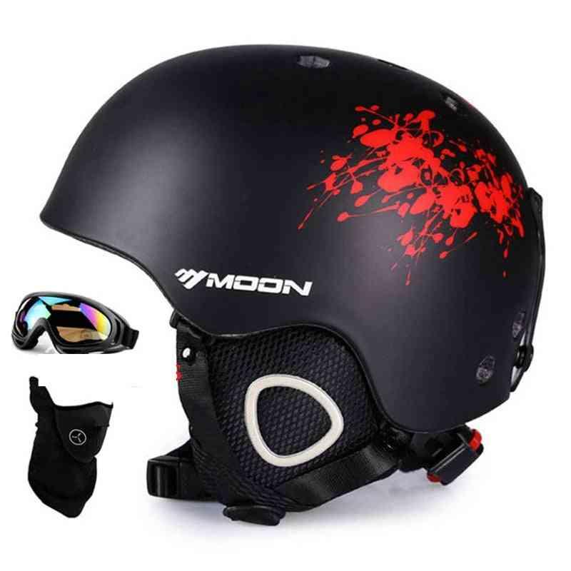 Skiing Snowboard Helmet, Cover Autumn Winter Adult Men Skateboard Equipment/sports Safety