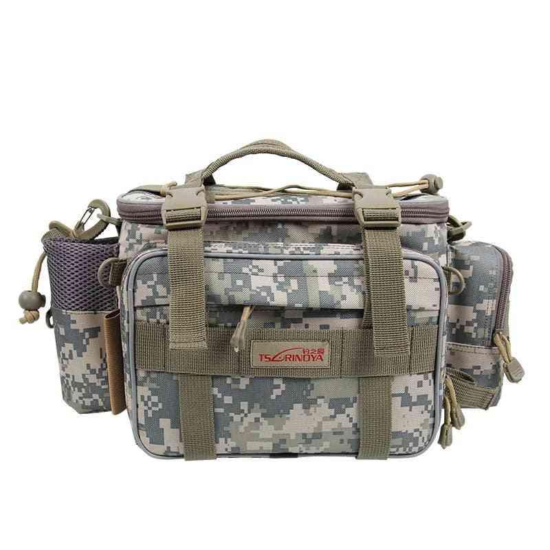 Multifunction Fishing Bag, High Capacity Fishings Tackle Lure Shoulder Bags
