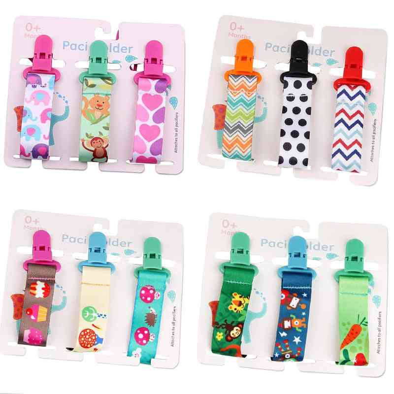 Baby Pacifier Chain Dummy Clip Nipple Holder