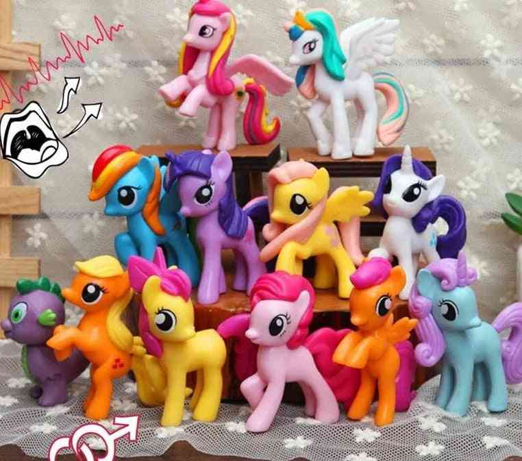 Pack Of 12 Little Pony Doll