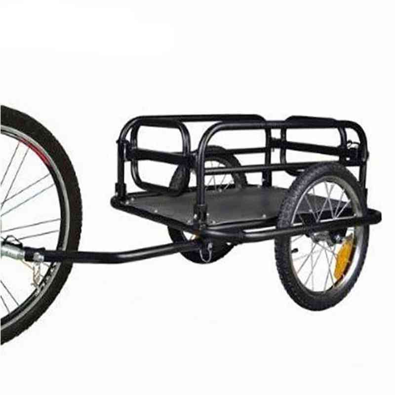 Foldable Bicycle Bike Cargo Trailer For Camping Tent Luggage Carry