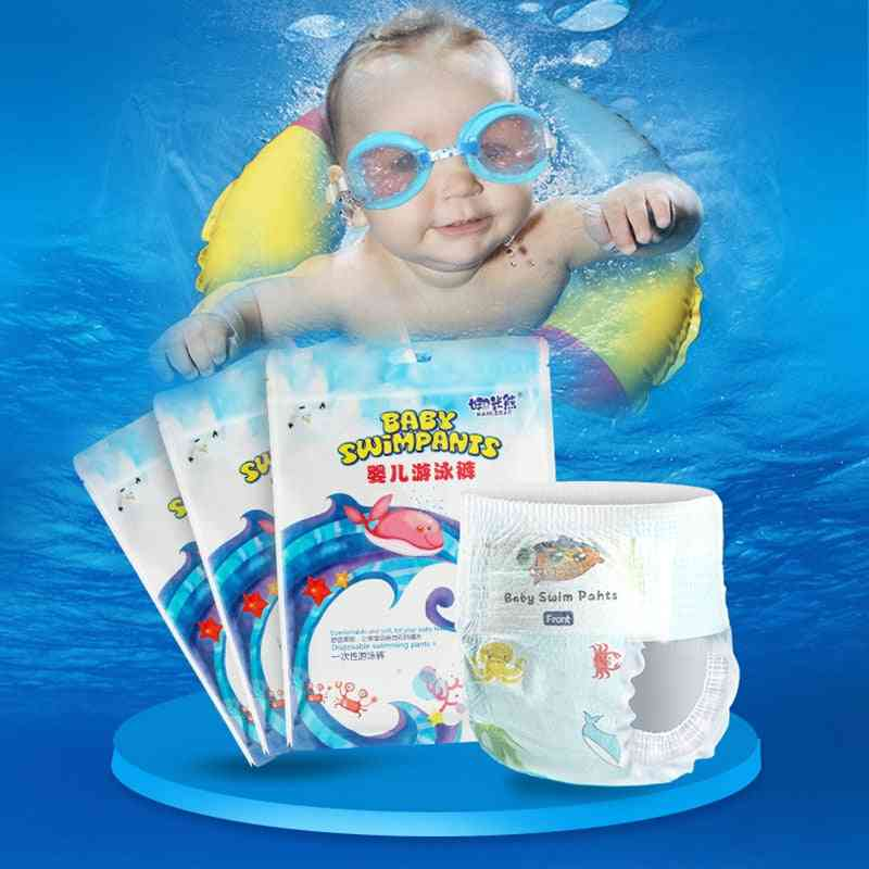 Baby Safety Individually Packaged Disposable Swim Trunks Waterproof Diapers