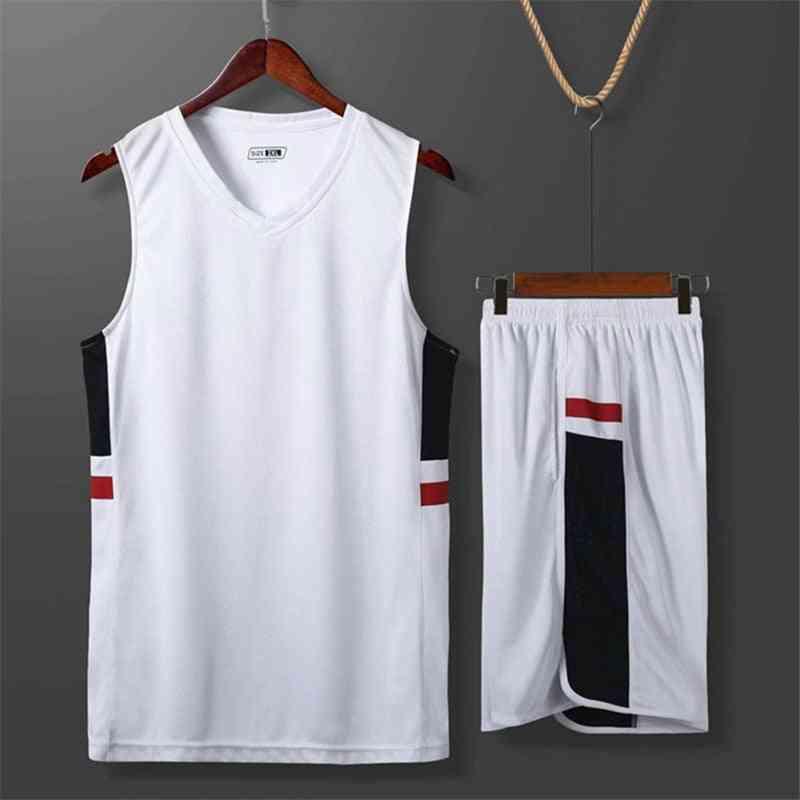 Men & Women Basketball Match Suit, Breathless Sleeveless Jersey
