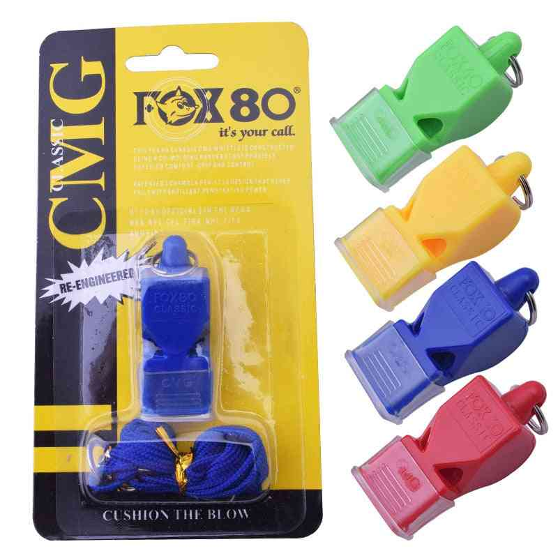 Seedless Plastic Whistle, Professional Soccer Referee Tool