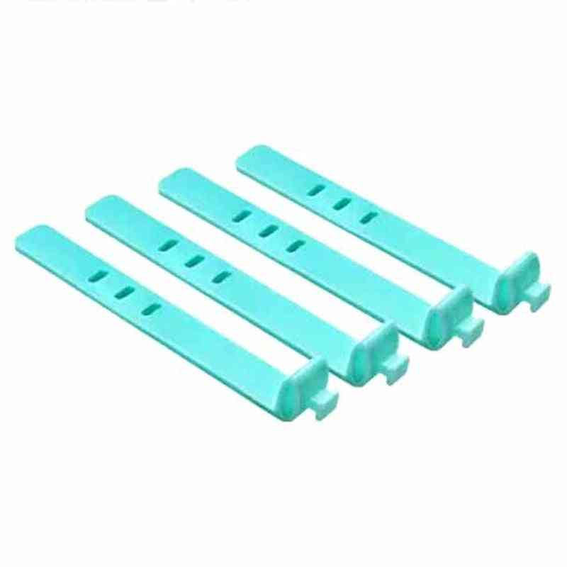 4pcs Of Silicone Cable Organizer/wrap