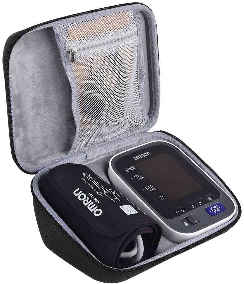 Arm Blood Pressure Monitor, Storage Bag Fits Charger & Cuff
