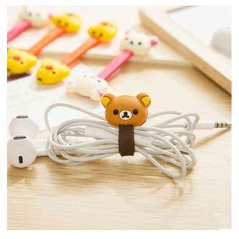 Double Headed Cartoon Cable Winder