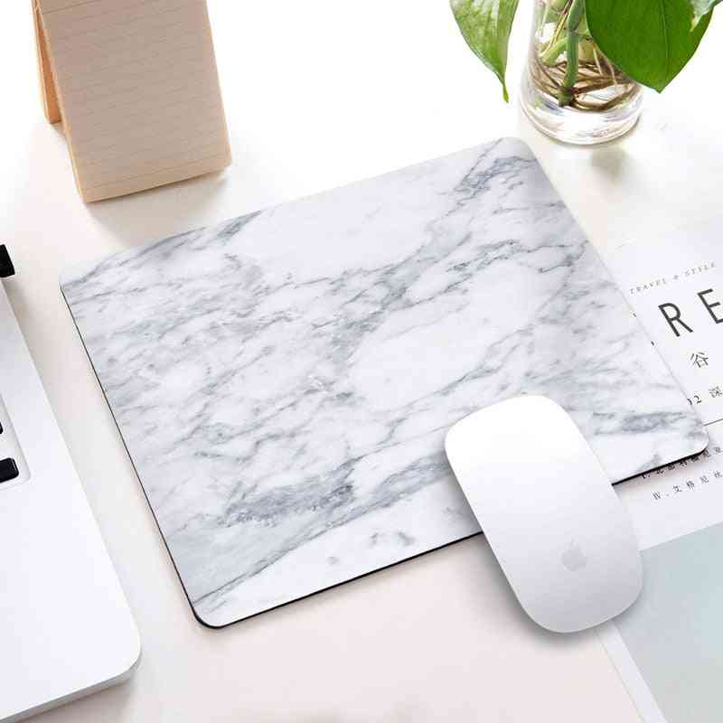 Marble Pattern Desk/computer Mouse Mat