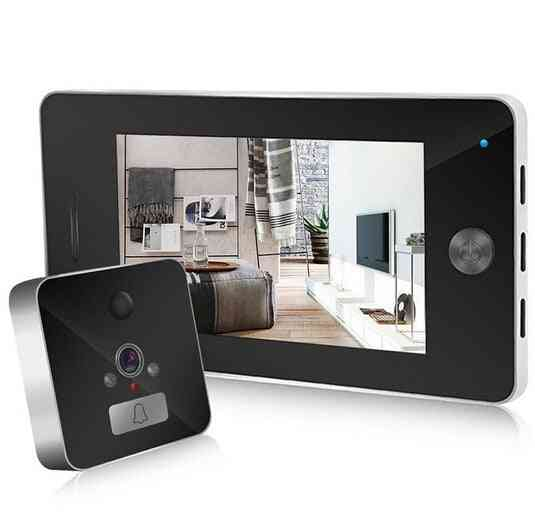 Digital Door Viewer Camera And Video Doorbell For Smart Home