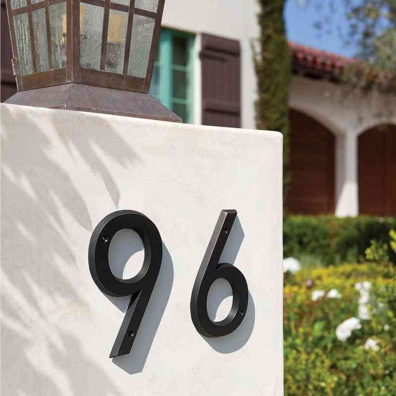 Modern Door House Numbers For Address