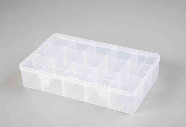 15 Compartments Transparent Storage Box For Washi Tape