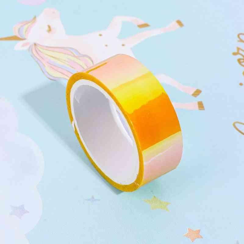 5m Laser Paper Glitter Washi Tape