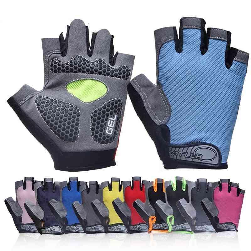 Men & Women's Sports 3d Gel Padded, Anti-slip Gloves