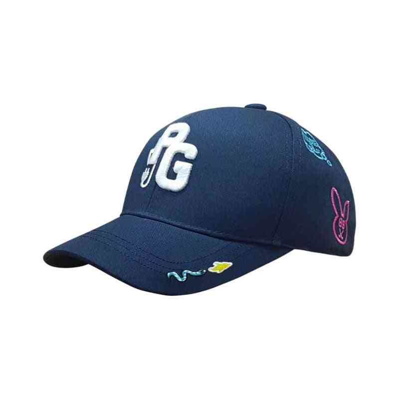 Unisex Embroidered Sports Cap