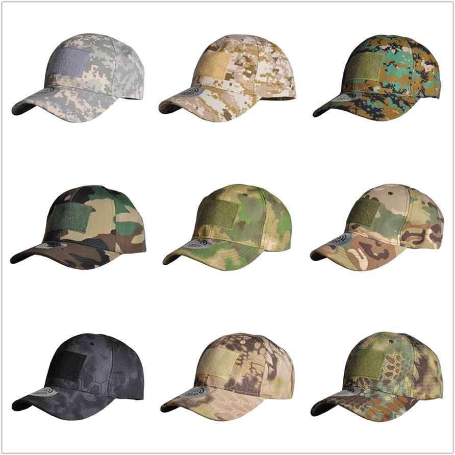 Outdoor Hunting Tactical Cap, Sport Snapback Stripe Hat