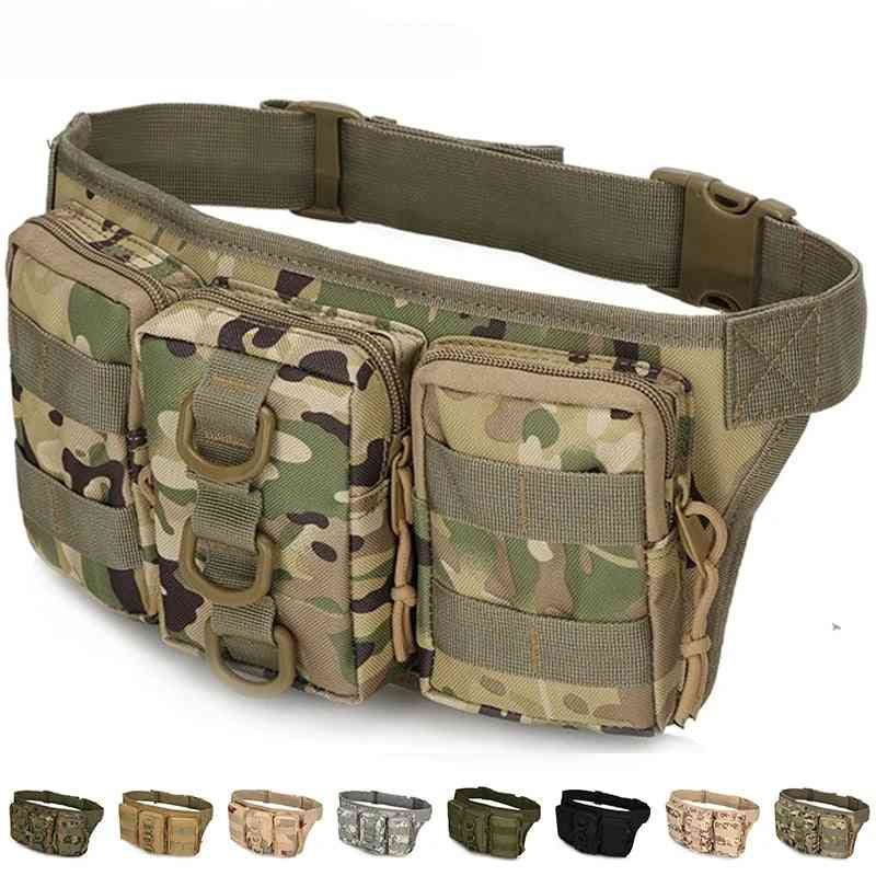 Waist Pack Sports Bags For Hiking, Outdoor Army-military Hunting, Climbing And Camping