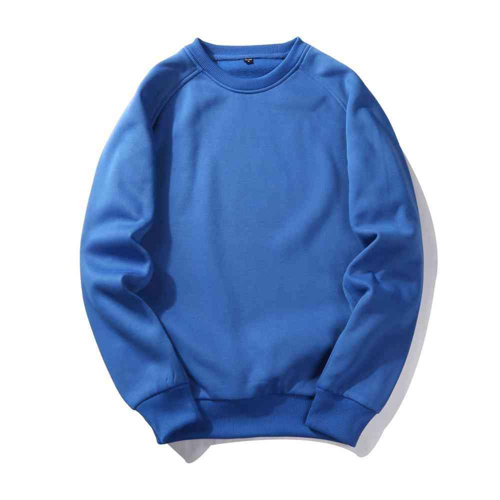 Skateboard Pullover Hoodies, Winter Sweatshirts Men, Hip Hop Streetwear, Solid Fleece