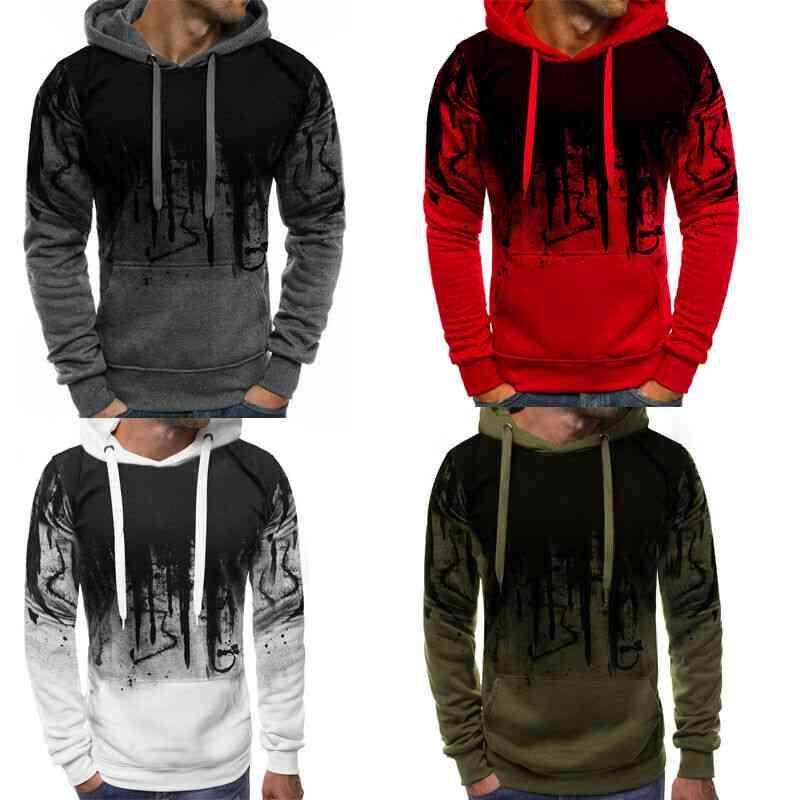 Men's Long Sleeve Hoodie Sweatshirt