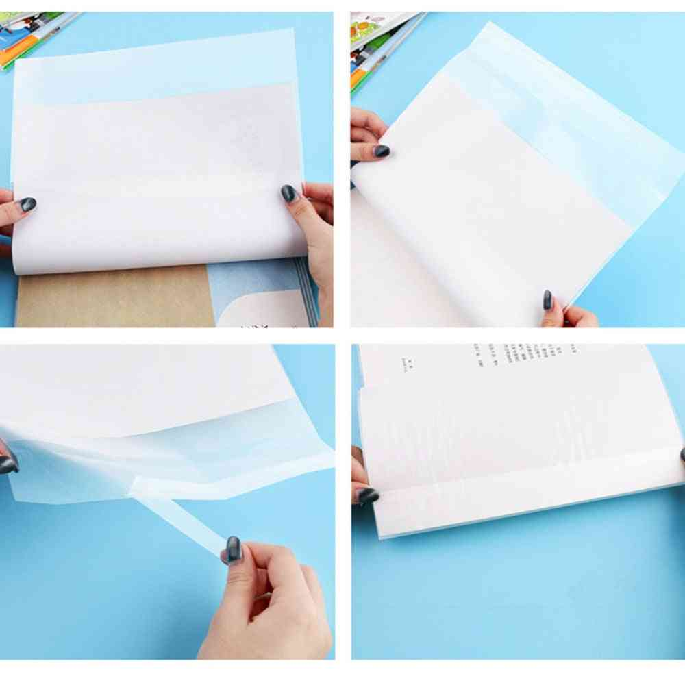 Waterproof Plastic Book Cover