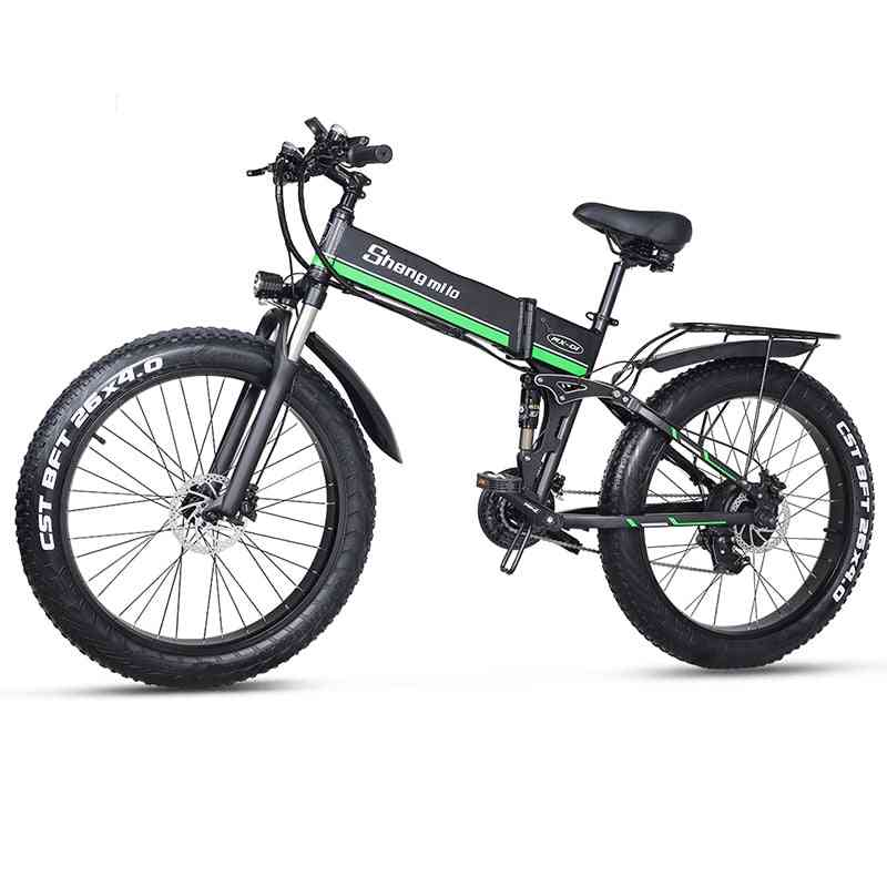 Electric Mountain Snow Bike/bicycle With 3 Riding Modes