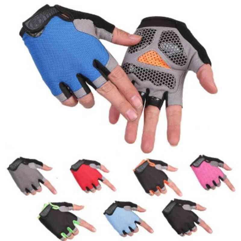 Half-finger, Anti Slip Sport Gloves