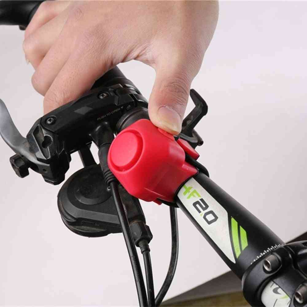 Electronic Loud Horn Safety Bell For Bicycle With Strap