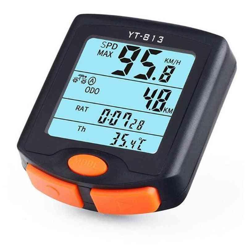 Speed Meter Digital Bike, Multifunction Waterproof Sports Sensors