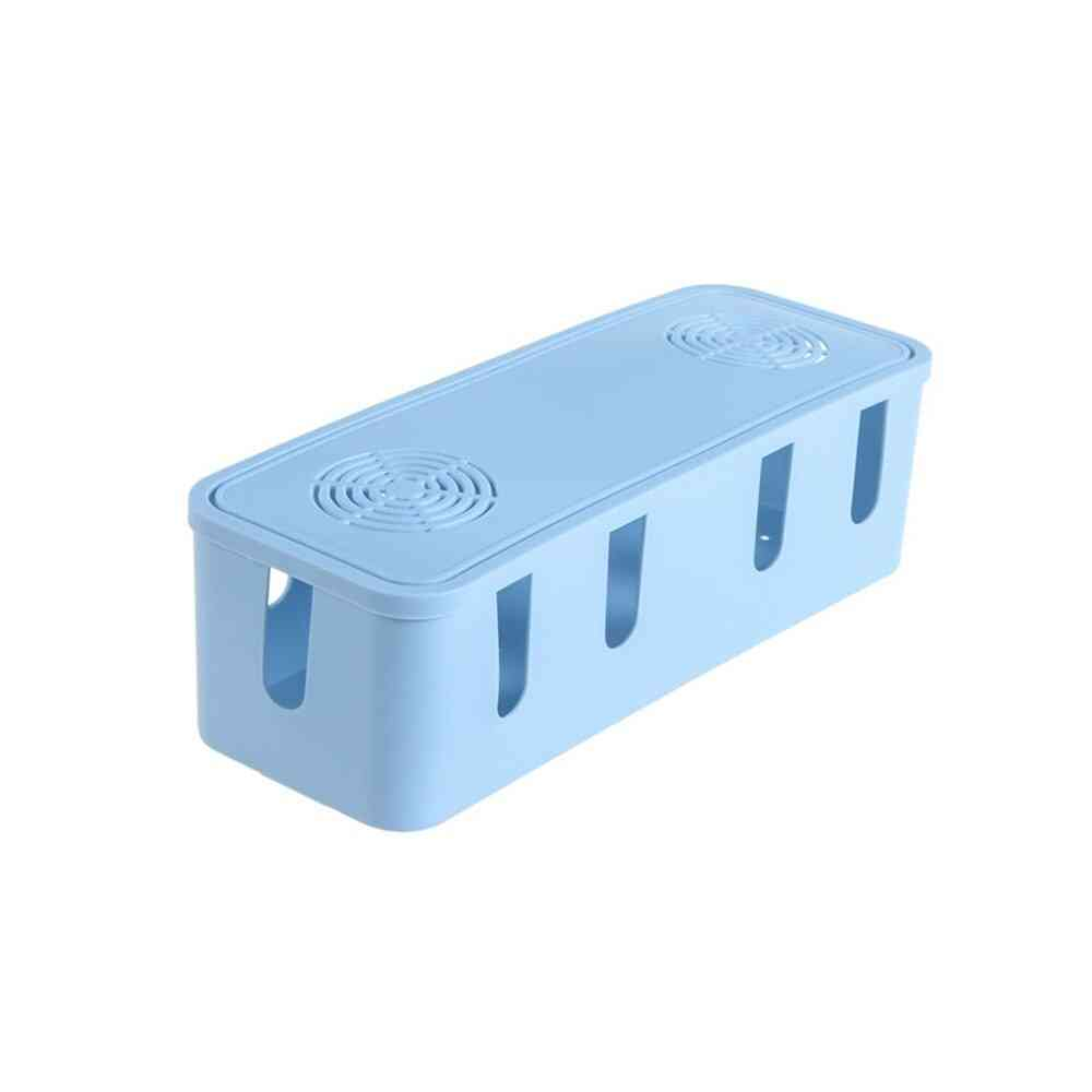 Cable Storage Box, Wire Management Socket Tidy Organizer