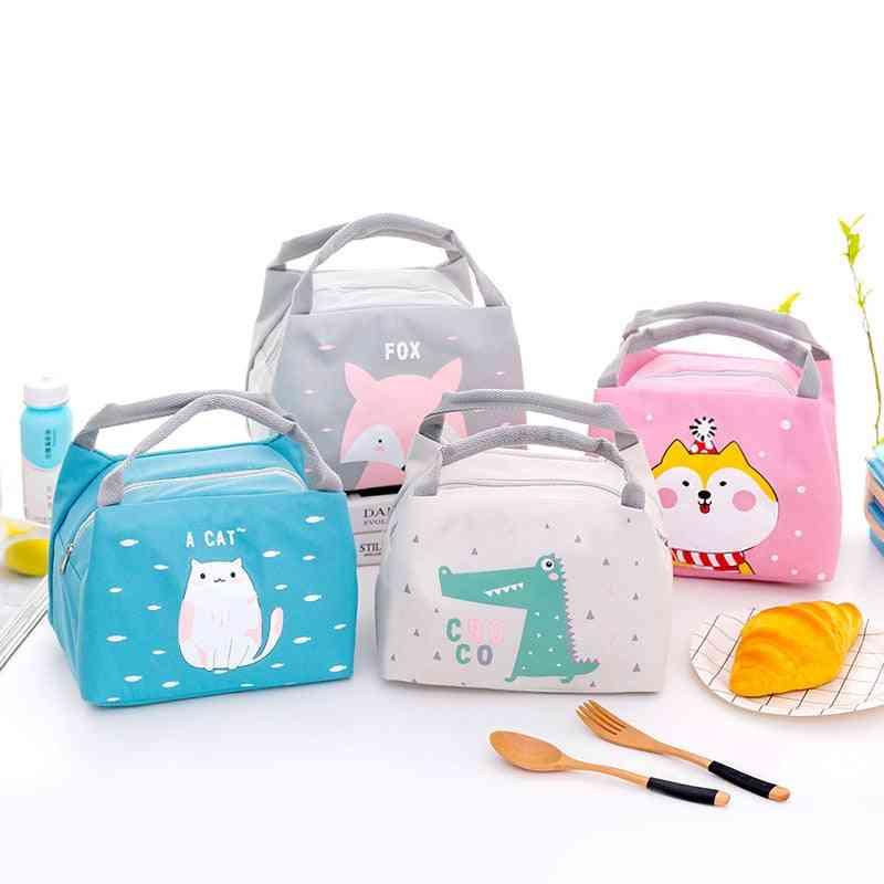 Baby Food Insulation Waterproof Thermal Bags, Convenient Leisure Cute Cartoon