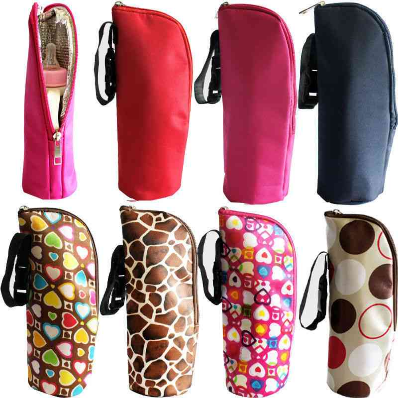 Thermal Portable Baby Feeding Bottle Warmers Hang Bags