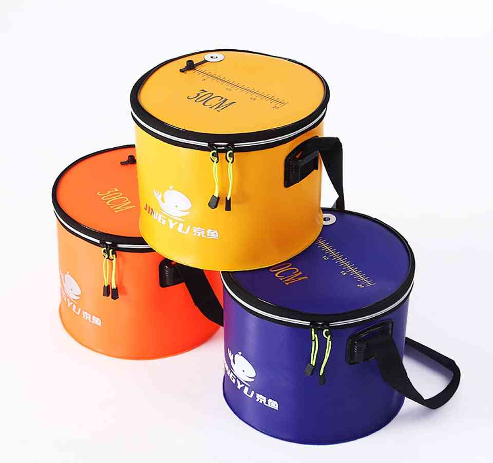 Fishing Bucket With Shoulder Strap