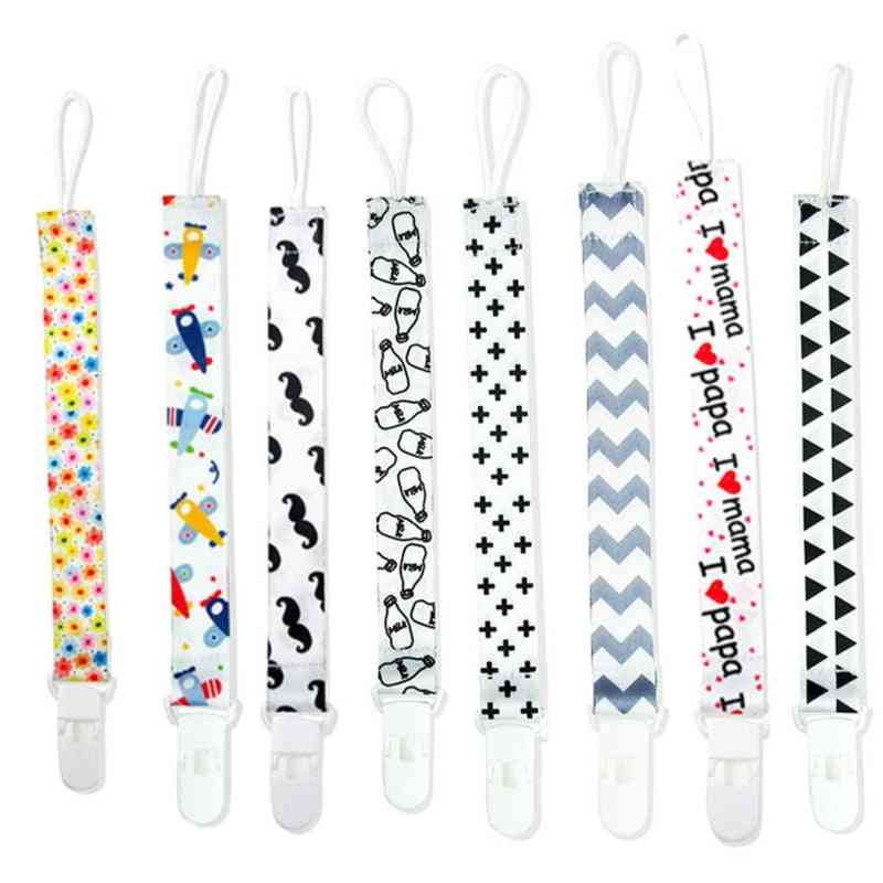Baby Pacifier Chain With String Clip Holder
