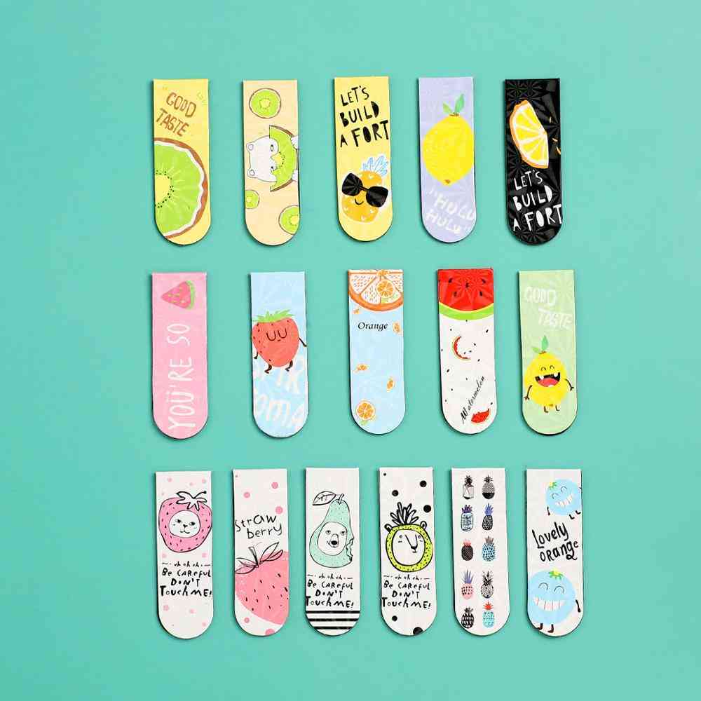 Cute Cartoon Magnet Bookmark