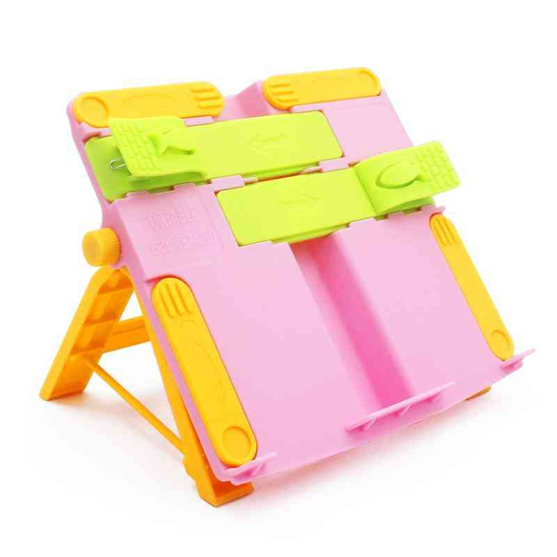 Adjustable  And Foldable Book Holder Shelf For Correct Sitting Posture